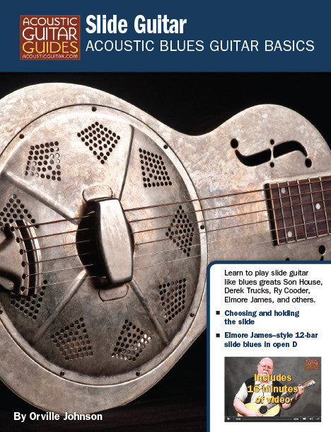 Acoustic Blues Guitar Basics: Slide Guitar
