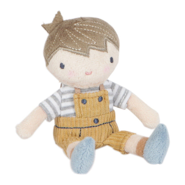 Poupée en peluche Jim 10 cm - Little Dutch