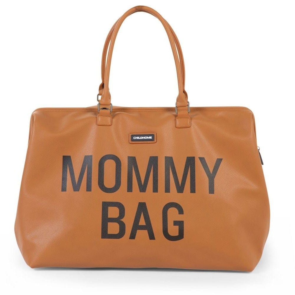 Sac à langer - Mommy Bag - Look Cuir Brun - Childhome