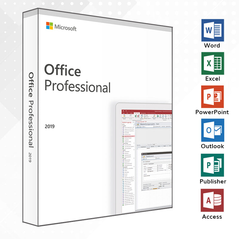 Office 2019 Professional Vollversion