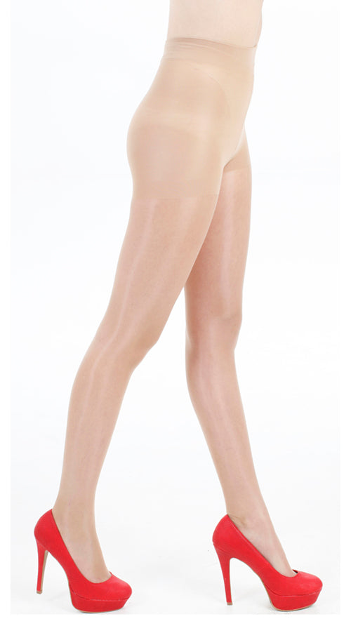 15 DENIER BODY CONTROL TIGHTS GLOSS NATURAL