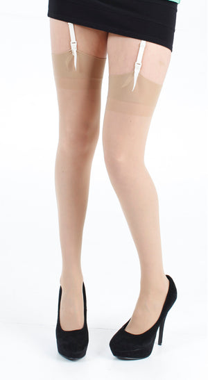 15 DENIER SHEER STOCKINGS NATURAL