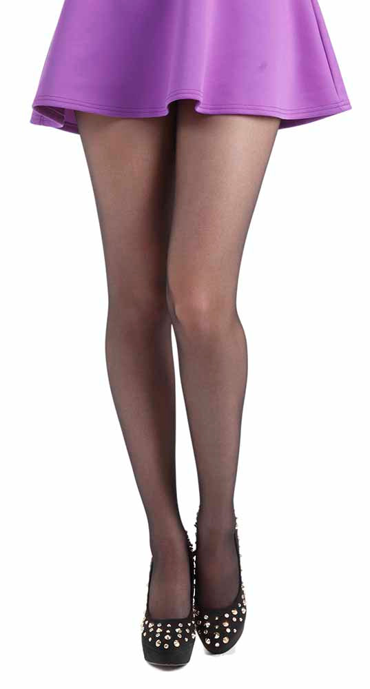 15 DENIER SHEER TIGHTS BLACK ONE SIZE