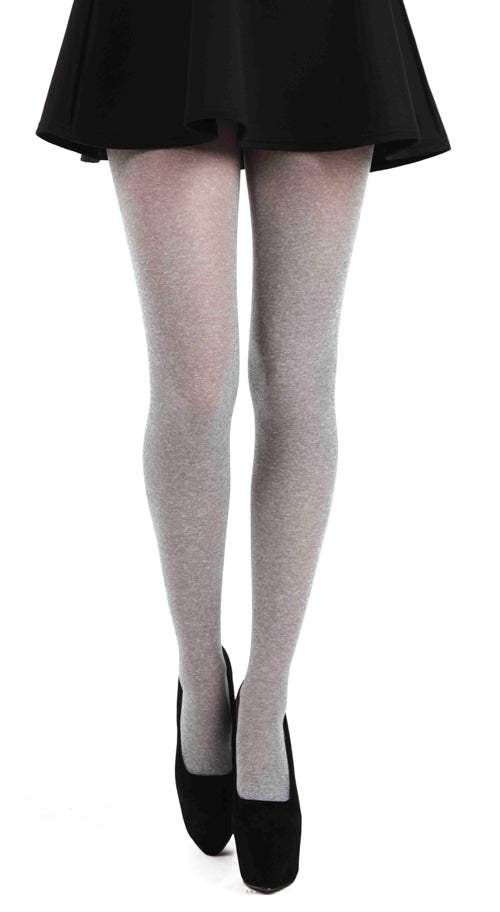 MARL TIGHTS MELANGE GREY