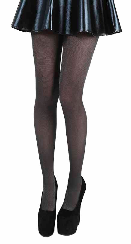 SOFT TOUCH BLACK TIGHTS ONE SIZE
