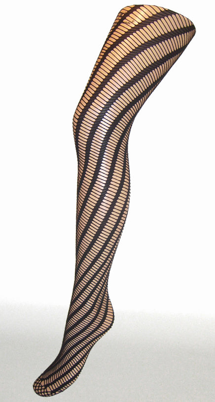 TWISTER TIGHTS BLACK ONE SIZE
