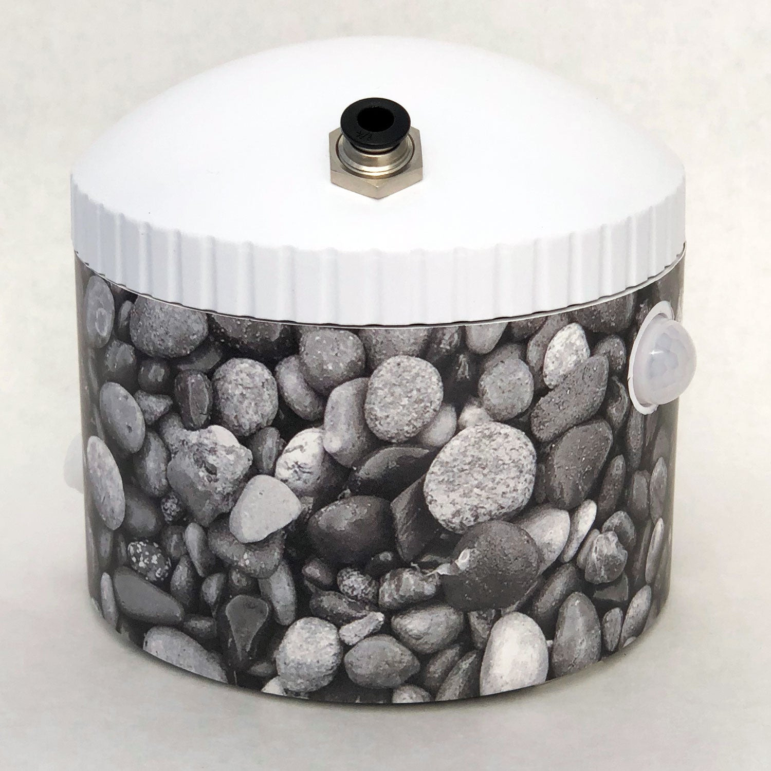 DecoWrap - Pebbles - Black and white - DW-0002