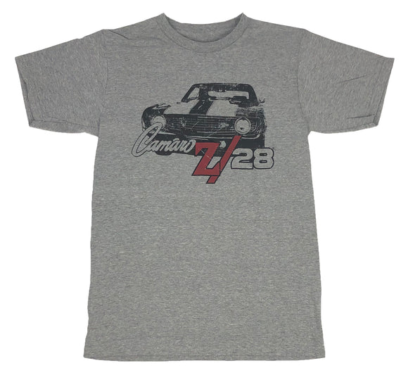 Camaro Z28 Logo Men's T Shirt GM General Motors Chevrolet Chevy Graphic Tee