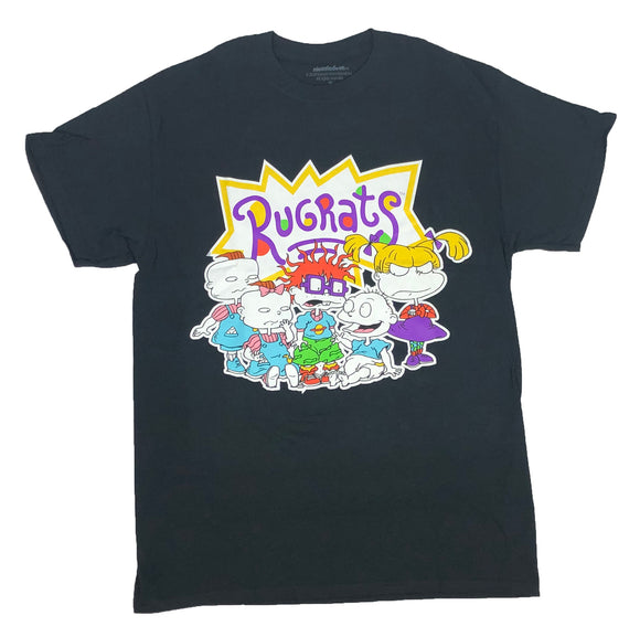 Nickelodeon Men's T Shirt Rugrats Tommy Chuckie Phil Lil Angelica Graphic Tee