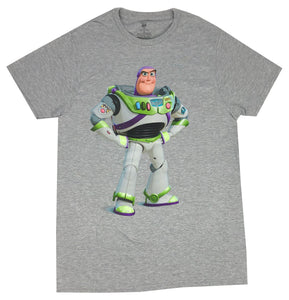 Disney Men's T Shirt Buzz Lightyear Portrait Disneyland Graphic Tee