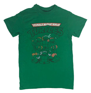 Teenage Mutant Ninja Turtles Men's T Shirt TMNT Group Shot Graphic Tee - tshirtconnect