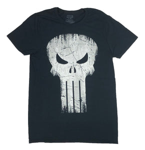 Marvel Men's T Shirt The Punisher Scratch Logo Distressed Graphic Tee - tshirtconnect