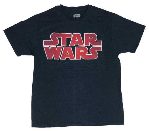 Star Wars Men's T Shirt Star Fade Logo Original Vintage Licensed - tshirtconnect