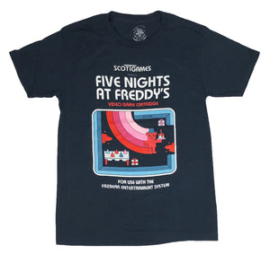 Five Nights At Freddy's Men's T shirt Fazbear Entertainment System Video Game - tshirtconnect