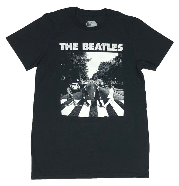 The Beatles Men's T Shirt Abbey Road Icon Rock Music Band Retro Graphic Tee