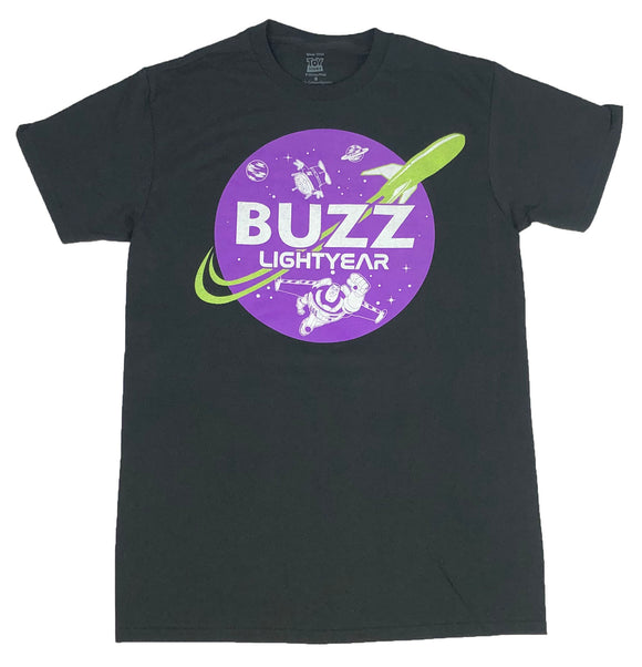 Men's Disney Toy Story T Shirt Buzz Lightyear Aliens Outer Space Graphic Tee