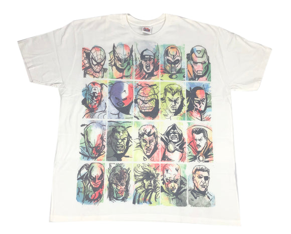 Marvel X Men Avengers Fantastic Four Heroes Villains Men's T Shirt - tshirtconnect