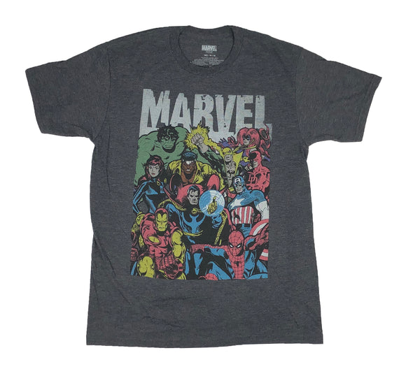 Marvel Comics Avengers Defenders Doctor Strange Iron Fist Luke Cage Men's T Shirt - tshirtconnect