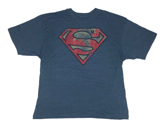 Superman Man of Steel Rusted Logo Son of Krypton Men's T Shirt - tshirtconnect