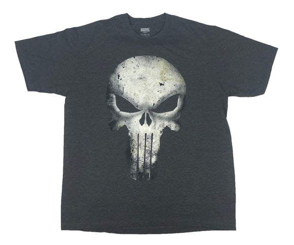 Marvel Comics The Punisher Bone Decay Logo Men's T Shirt - tshirtconnect