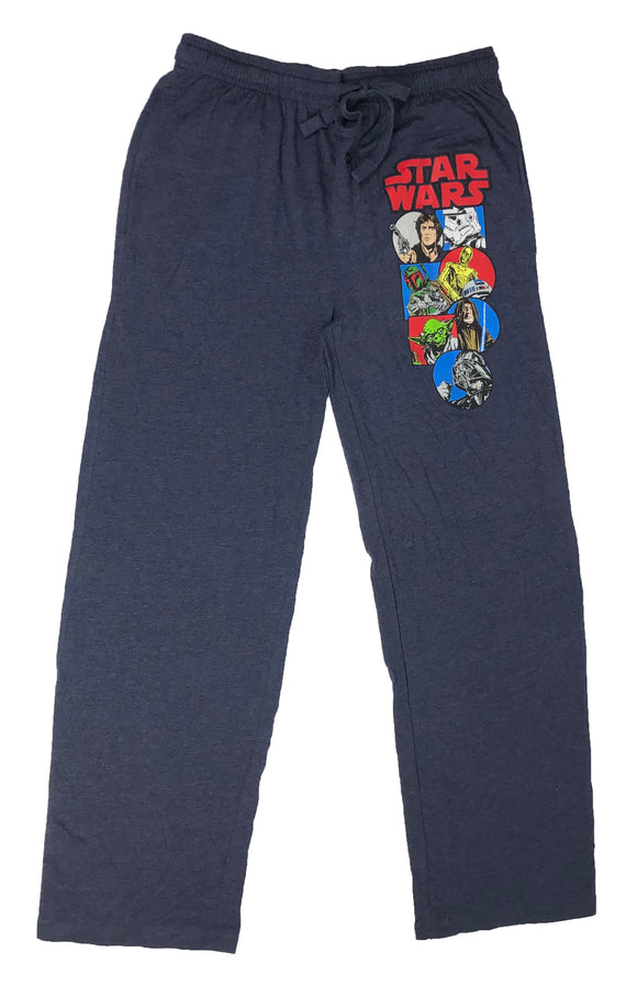 Star Wars Boba Fett Darth Vader Rebel Character Pajama Bottom Men's Lounge Pants - tshirtconnect