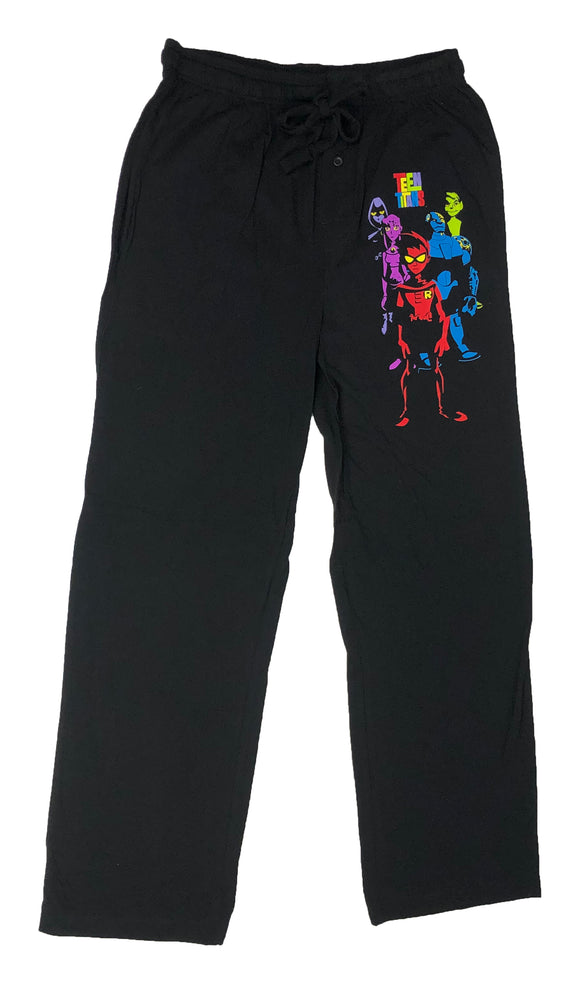 Teen Titans Robin Raven Cyborg Starfire Beast Pajama Bottom Men's Lounge Pants - tshirtconnect