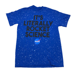 NASA It's Literally Rocket Science Men's T Shirt - tshirtconnect