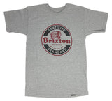 Brixton Certified Native American Logo Short Sleeve Men's T Shirt - tshirtconnect