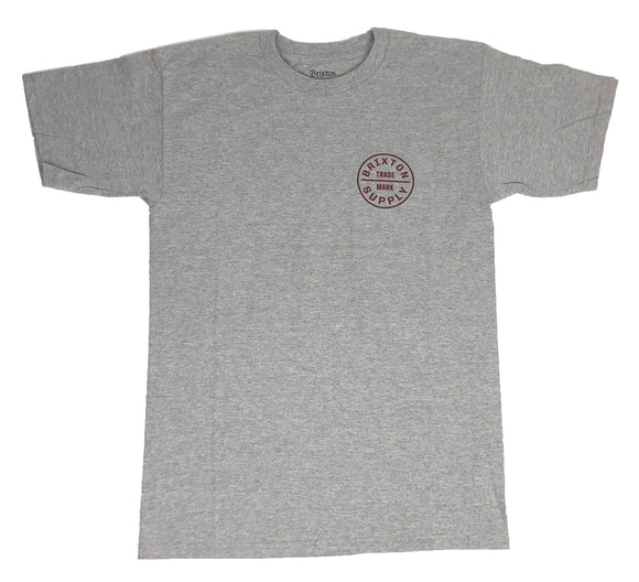 Brixton Oath S/S Short Sleeve Men's T Shirt - tshirtconnect