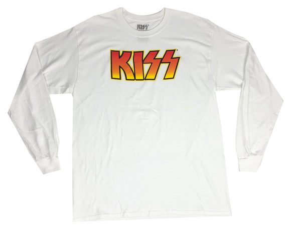 KISS Band Logo Rock and Roll Gene Simmons Paul Stanley Men's Long Sleeve T Shirt - tshirtconnect