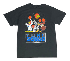 Space Jam Tune Squad Looney Tunes Stitch Logo Bugs Taz Daffy Mens T Shirt - tshirtconnect