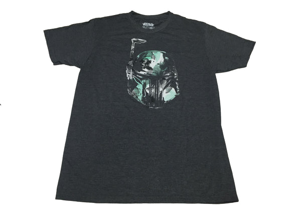 Star Wars Boba Fett Head Shot Flower Camo Men's T Shirt - tshirtconnect