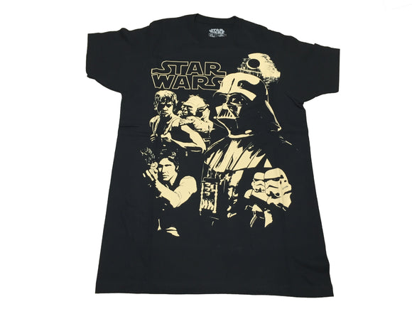 Star Wars Men's T Shirt The Empire Strikes Back Poster Graphic Tee - tshirtconnect