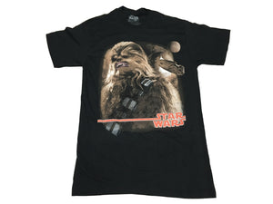 Star Wars Men's T Shirt Chewbacca Chewwy 2 Moons Millennium Falcon Graphic Tee - tshirtconnect