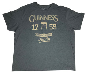 Guinness Men's T Shirt 1759 Luck Of The Irish Dublin Graphic Tee - tshirtconnect