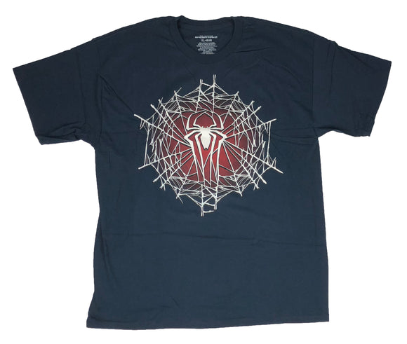 Marvel Men's T Shirt Spiderman Avengers Web Logo Graphic Tee - tshirtconnect