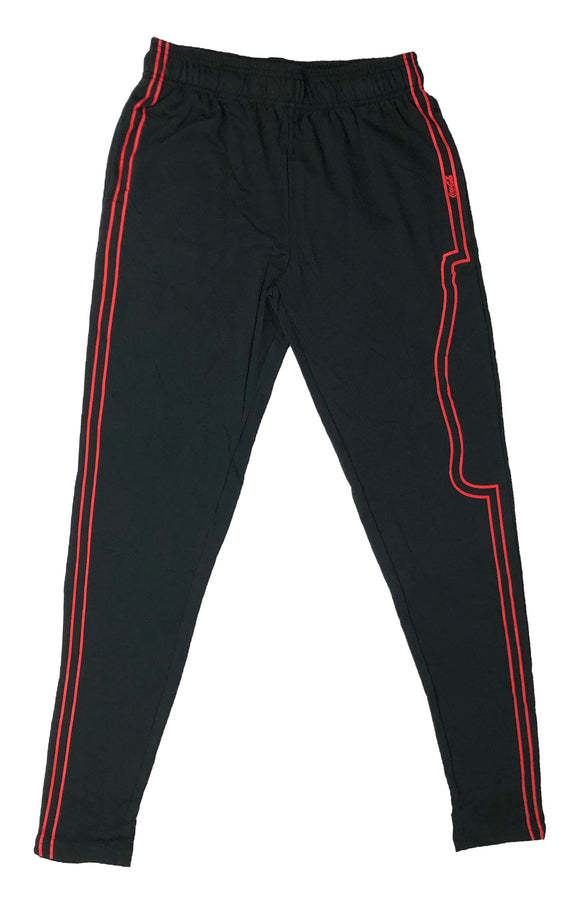 Coca Cola Red Stripe Athletic Taper Pajama Bottom Men's Lounge Pants - tshirtconnect