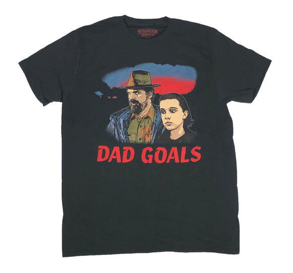 Stranger Things Dad Goals Chief Hopper Eleven Men's T Shirt - tshirtconnect