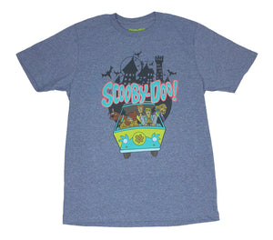 Scooby Doo Shaggy Velma Fred Daphne Mystery Machine Haunted Mansion Men's T Shirt - tshirtconnect