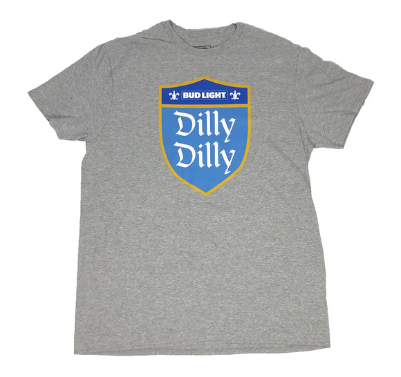 Budweiser Bud Light Men's T Shirt Dilly Dilly Logo Classic Alcohol Beer - tshirtconnect