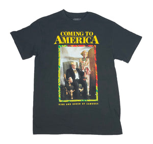 Coming To America Movie Eddie Murphy King And Queen Of Zamunda Men's T Shirt - tshirtconnect