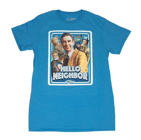 Mr. Rogers Neighborhood Hello Neighbor Men's T Shirt - tshirtconnect