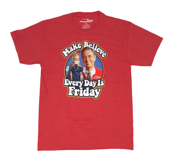 Mr. Rogers Neighborhood Friday Every Day Men's T Shirt - tshirtconnect