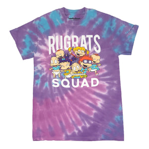 Nickelodeon Rugrats Squad Tommy Phil Lil Dil Susie Angelica Chuckie Tie Dye Men's T Shirt - tshirtconnect