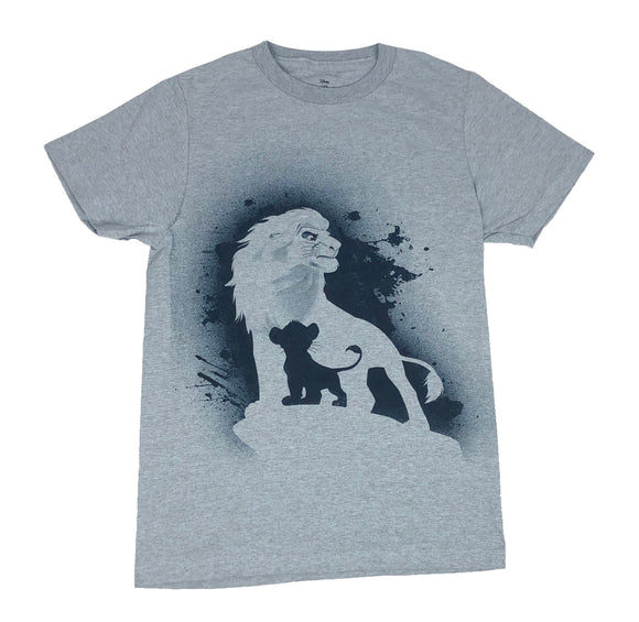Disney Lion King Simba Mufasa Men's T Shirt - tshirtconnect