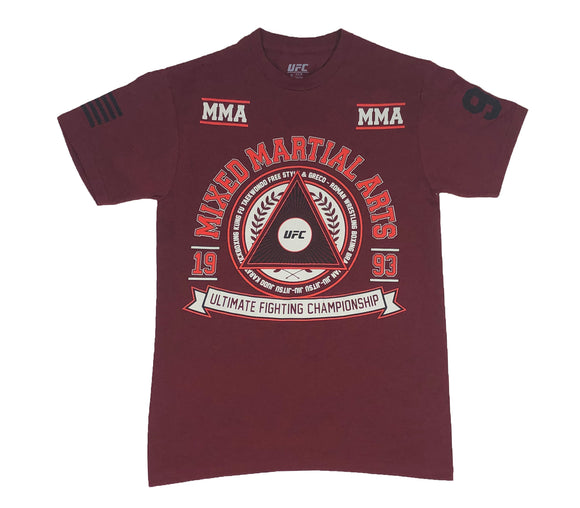 UFC Front Back Logo MMA Mixed Martial Arts BJJ Muay Thai Boxing Men's T Shirt - tshirtconnect