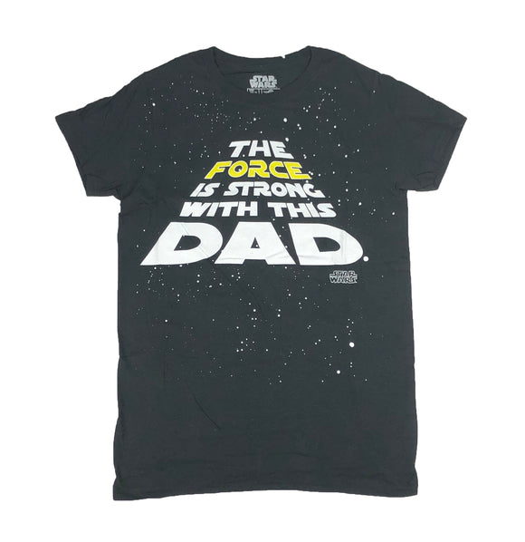 Star Wars Force Is Strong With This Dad Men's T Shirt - tshirtconnect
