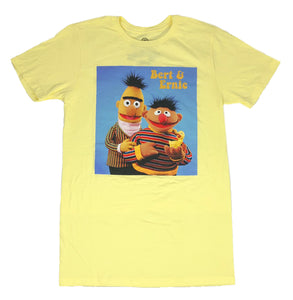Sesame Street Bert And Ernie Rubber Ducky PBS TV Show Men's T Shirt - tshirtconnect