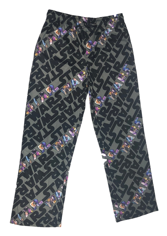 Star Wars Logo All Over Pajama Bottom Men's Lounge Pants - tshirtconnect