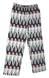 Star Wars Stormtrooper Santa Hat Holiday Pajama Bottom Men's Lounge Pants - tshirtconnect